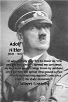 Adolf Hitler: NAZI Reign Folly of Conformity