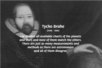 Astronomy: Stars, Planets, Measurement Tycho Brahe