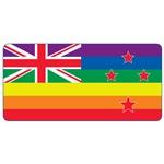 New Zealand Gay Pride Flag