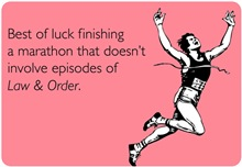 Finishing A Marathon