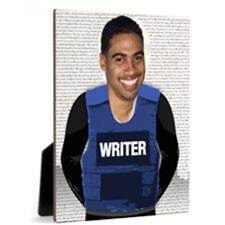 Writer Vest Photo Panel