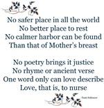 NEW! Breastfeeding Poem, By Tami