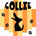 Collie Yellow/Orange Stripe