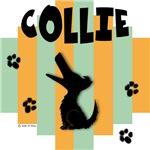 Collie Green/Orange Stripe