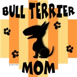 Bull Terrier Mom - Yellow/Orange Stripe