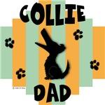 Collie Dad - Green/Orange Stripe
