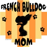 French Bulldog Mom - Yellow/Orange Stripe