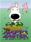 Bull Terrier - Happy Easter