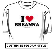 I love Breanna