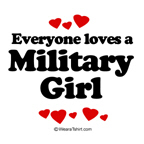 Everyone loves a Military girl