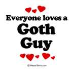 Everyone loves a Goth guy