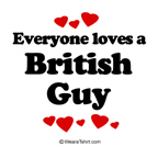 Everyone loves a British guy