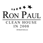 Ron Paul 2008: Clean house in 2008