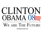 Clinton/Obama: We are the future