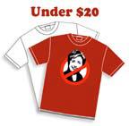 Anti-Hillary T-shirts Under $20