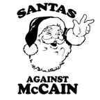 ANTI-PALIN: Santas against McCain