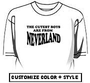 The cutest boys are from Neverland