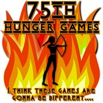 75th HUNGER GAMES Girl on Fire