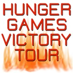 HUNGER GAMES VICTORY TOUR CATCHING  FIRE