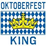 OKTOBERFEST KING with Crown