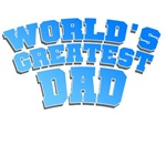 Blue World's Greatest Dad