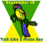 September 19 Talk Like a Pirate Day