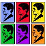 Warholesque RFK on T-shirts, Posters