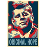 JFK The Original Hope Poster Art