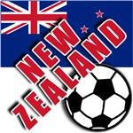 World Soccer NEW ZEALAND T-shirts