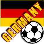 World Soccer GERMANY Team T-shirts