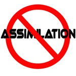 No Assimilation Star Trek T-shirts