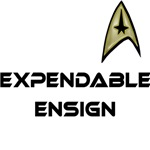 Expendable Ensign Star Trek Humor Tshirt