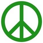 Green Peace Symbol