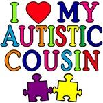 I Love My Autistic Cousin Tshirts