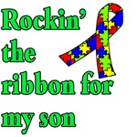 Rockin the Awareness Ribbon for My Son