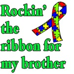 Rockin the Autism Ribbon for My Brother