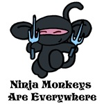 Ninja Monkey Sai