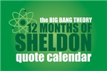 !2 months of Sheldon - Quote Calendar