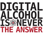 Big Bang Theory - Digital alcohol is never the answer