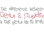 genius & stupidity