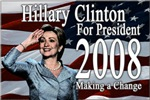 Hillary Clinton Making a Change