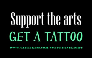 Support the Arts Tattoo
