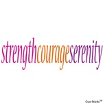 Strength Courage Serenity
