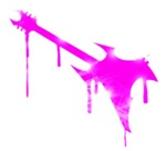 Graffiti Pink Guitar
