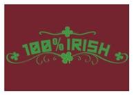 100% Irish Floral