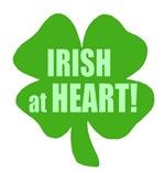 Irish At Heart t-shirts & gifts