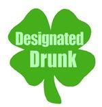 Designated Drunk Saint Patricks Day T-shirts Gifts