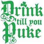 Drink Till You Puke T-shirts