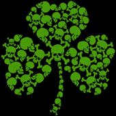 Shamrock Skulls St Pattys Day