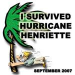 Hurricane Henriette t-shirts